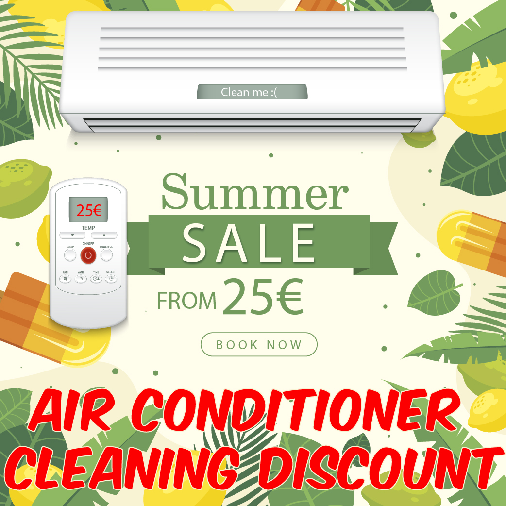 Discount on Air Conditioner Cleaning